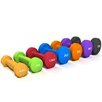 Haltères en Vinyls Fitness Doctor Paire Haltères Vinyle