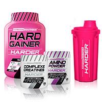 Hard Gainer FITNESSBOUTIQUE HARDER Pack Harder Prise de Masse