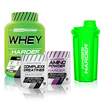 Whey protéine FITNESSBOUTIQUE HARDER Pack Harder Bodytime