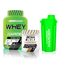 Whey protéine FITNESSBOUTIQUE HARDER Pack Decouverte Harder Performance