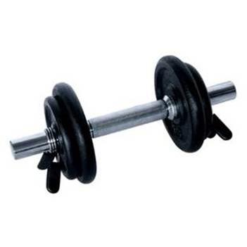 Fitness Doctor Set Haltère 10 kg Noir