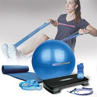 Médecine Ball et Balle lestée FITNESSBOUTIQUE Pack Home Fitness