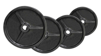 Olympique - Diamètre 51mm Fitness Doctor Pack Poids Olympiques 110 kg