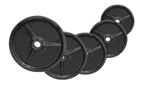 Olympique - Diamètre 51mm Fitness Doctor Pack Poids Olympiques 140 kg