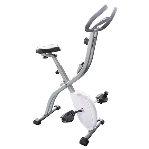 V lo d 39 appartement fitness doctor spacy blanc - Velo d appartement pliable occasion ...