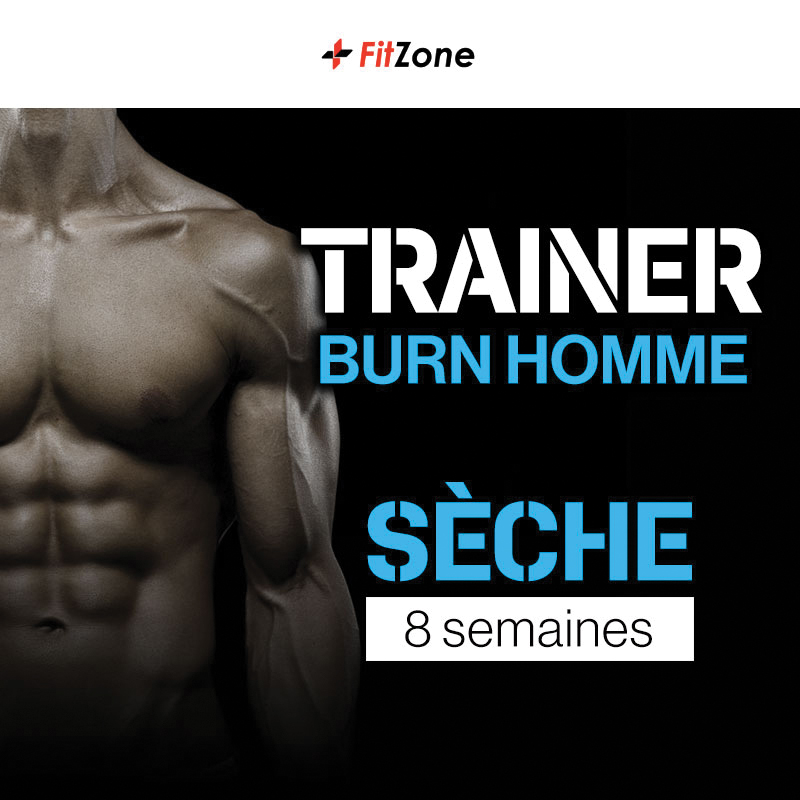 FITZONE Trainer Burn Homme 8 Semaines