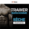 Coaching FITZONE Trainer Burn Homme 8 Semaines