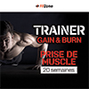 Coaching FITZONE Trainer Gain & Burn Homme 20 Semaines
