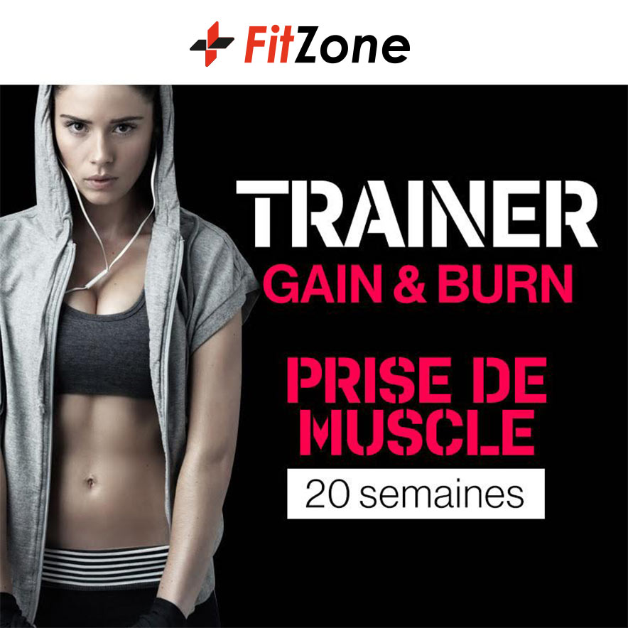 FITZONE Trainer Gain & Burn Femme 20 Semaines