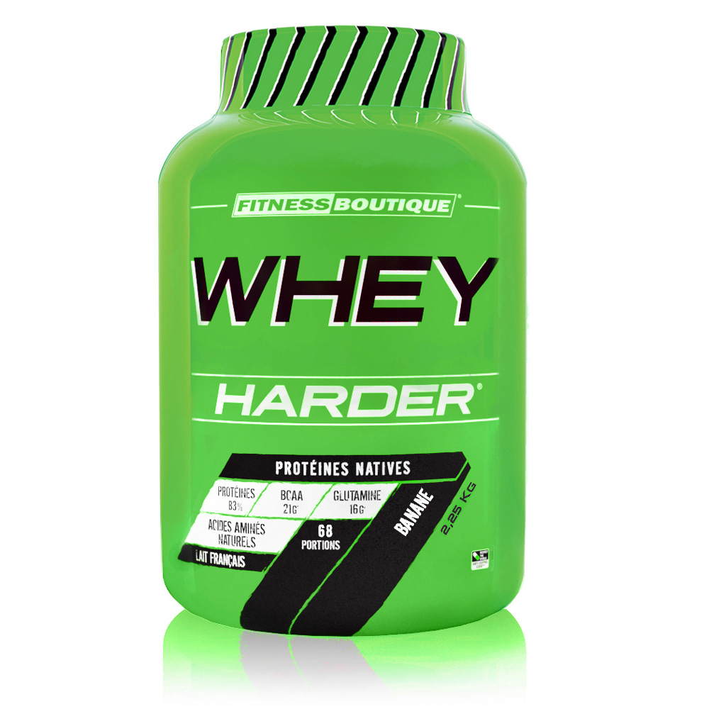 Protéines Harder Whey Harder