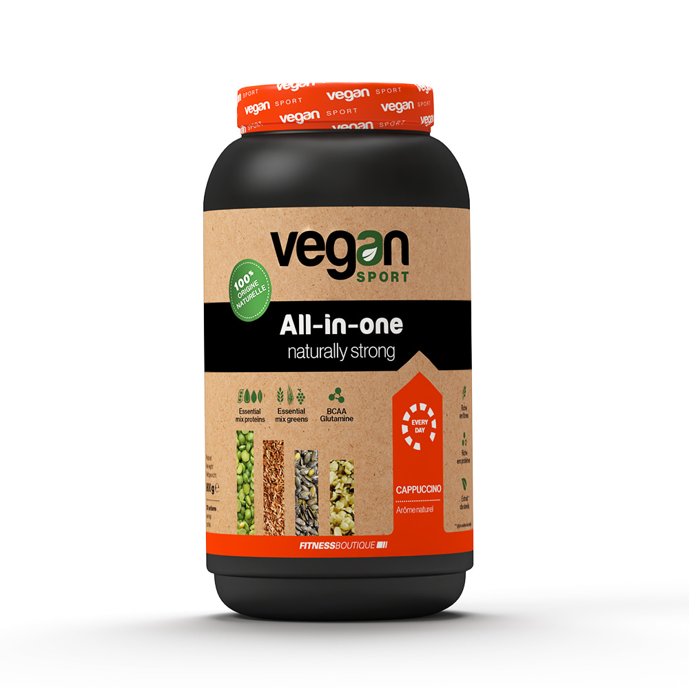 Vegan Sport All In One Naturally Strong / Protéine végétale