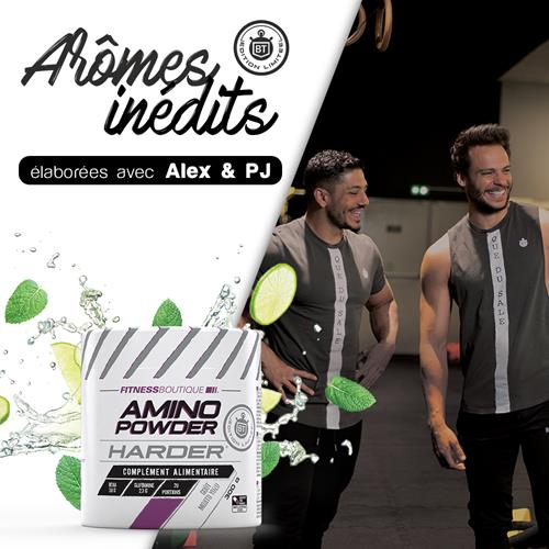 Acides aminés Harder Amino Powder Harder Edition Limitée Bodytime