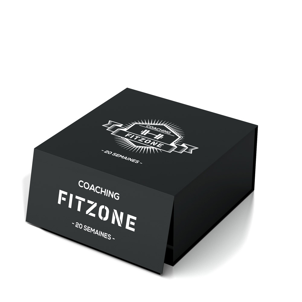 Coaching FITZONE Box Coaching FITZONE Noire 20 Semaines