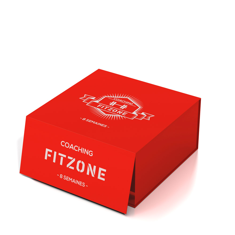 FITZONE Box Coaching FITZONE Rouge 8 Semaines