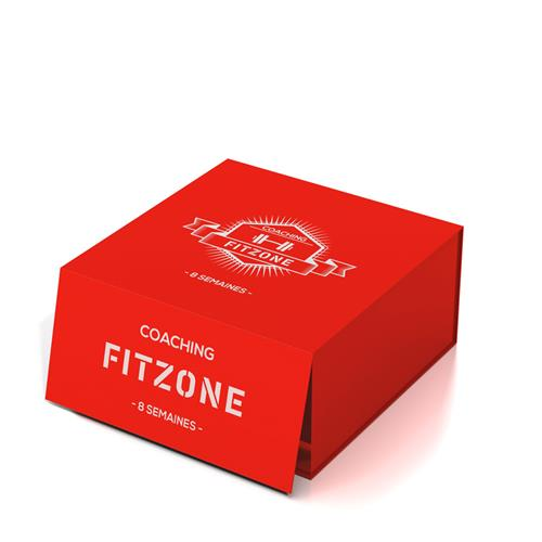 Coaching FITZONE Box Coaching FITZONE Rouge 8 Semaines