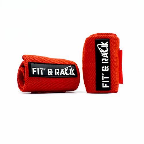 Accessoires de Musculation Fit' & Rack Bracelet de Force - Rouge
