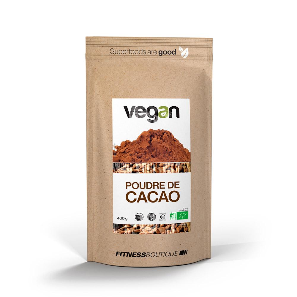 Vegan Poudre de Cacao Criollo Cru et BIO