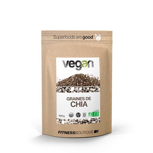 Cuisine - Snacking Vegan Graines de Chia Cru et BIO