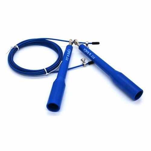 Corde à Sauter Fit' & Rack Corde à sauter Entrainement Bleu