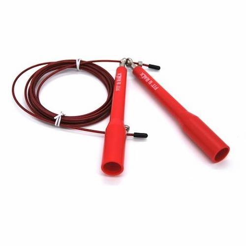 Corde à Sauter Fit' & Rack Corde à sauter Entrainement Rouge