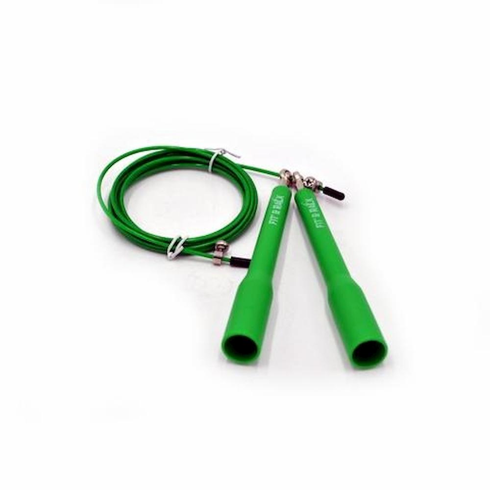 Fit' & Rack Corde à sauter Entrainement Verte