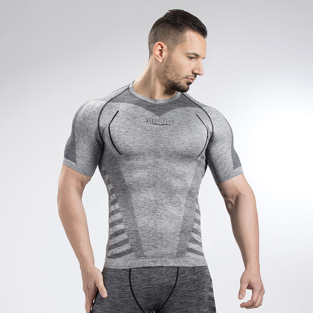 Fit Drivers T Shirt Technical Compression Homme