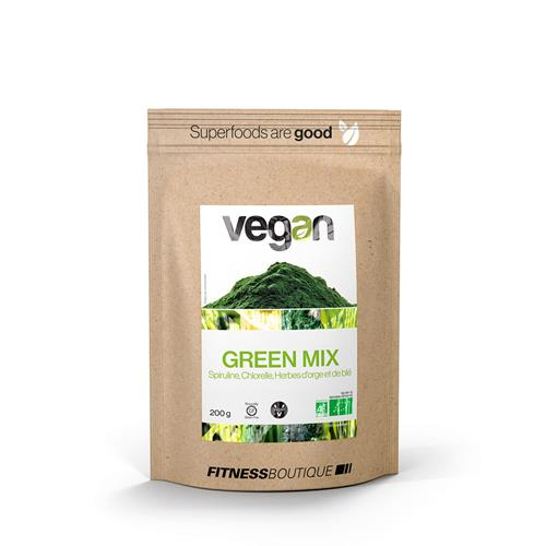 Cuisine - Snacking Green Mix BIO Vegan - Fitnessboutique