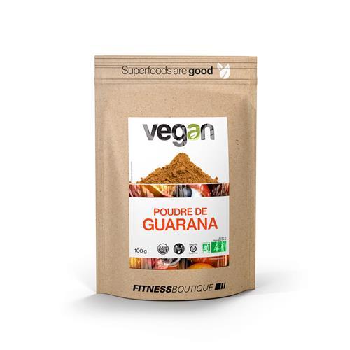 Régime Vegan / Végétarien Vegan Poudre de Guarana Cru et BIO