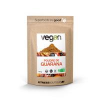 Régime Vegan / Végétarien Poudre de Guarana Cru et BIO Vegan - Fitnessboutique