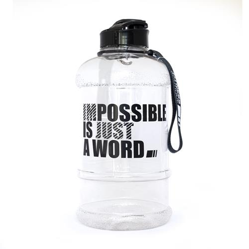 Shakers - Gourdes Fitnessboutique Impossible Bottle Transparent 1.3 L