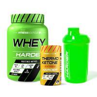 Whey protéine Pack Harder Seche Harder - Fitnessboutique