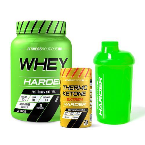 Protéines de sèche Pack Harder Seche