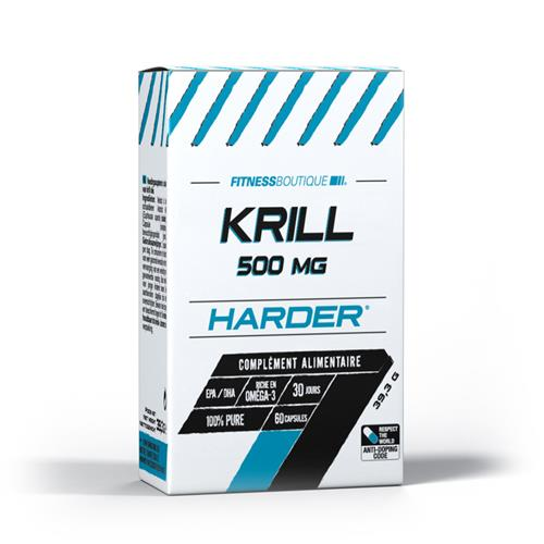 Oméga 3 Harder Krill 500 MG
