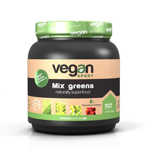 Protéine Végétale Vegan Sport Mix Greens Naturally Superfood