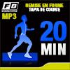 Fitnessboutique Coaching mp3 Remise en forme avec tapis de course 20 mn