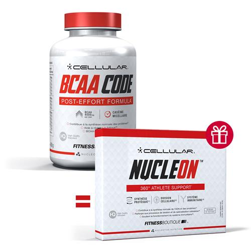 Acides aminés Cellular Pack BCAA Code NucleON