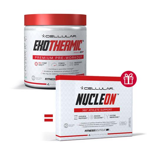 pre workout Cellular Pack Exothermic NucleON