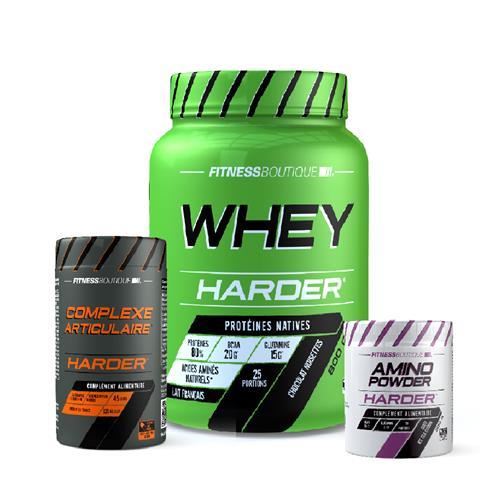 Protéines Harder Pack Reprise en bonnes conditions