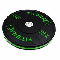 Disque Olympique - Diamètre 51mm Paire de poids d'entrainement 2.0 - 10 kg Fit' & Rack - Fitnessboutique