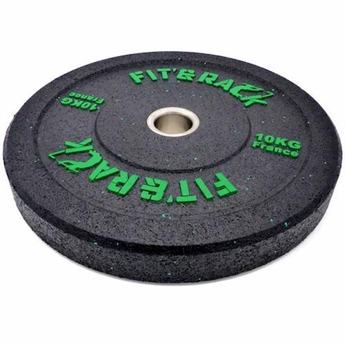 Disque Olympique - Diamètre 51mm Paire de poids Olympique WOD 10kg Fit' & Rack - Fitnessboutique