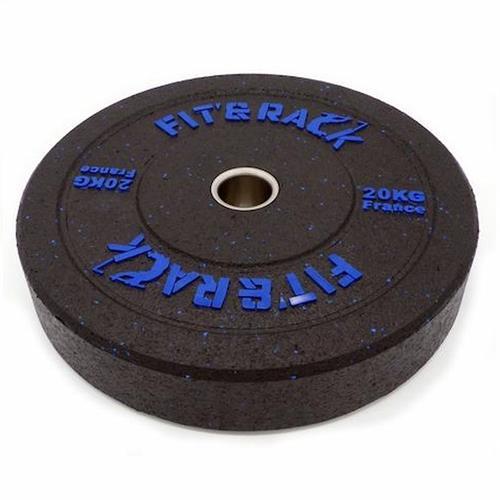 Disque Olympique - Diamètre 51mm Fit' & Rack Poids Olympique WOD 20kg