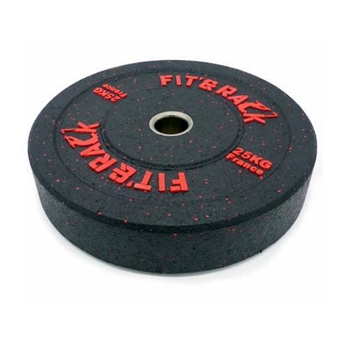 Disque Olympique - Diamètre 51mm Fit' & Rack Poids Olympique WOD 25 kg