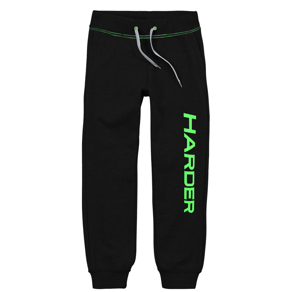 v tements de sport femme harder pantalon jogging homme harder noir vert s noir vert xl. Black Bedroom Furniture Sets. Home Design Ideas
