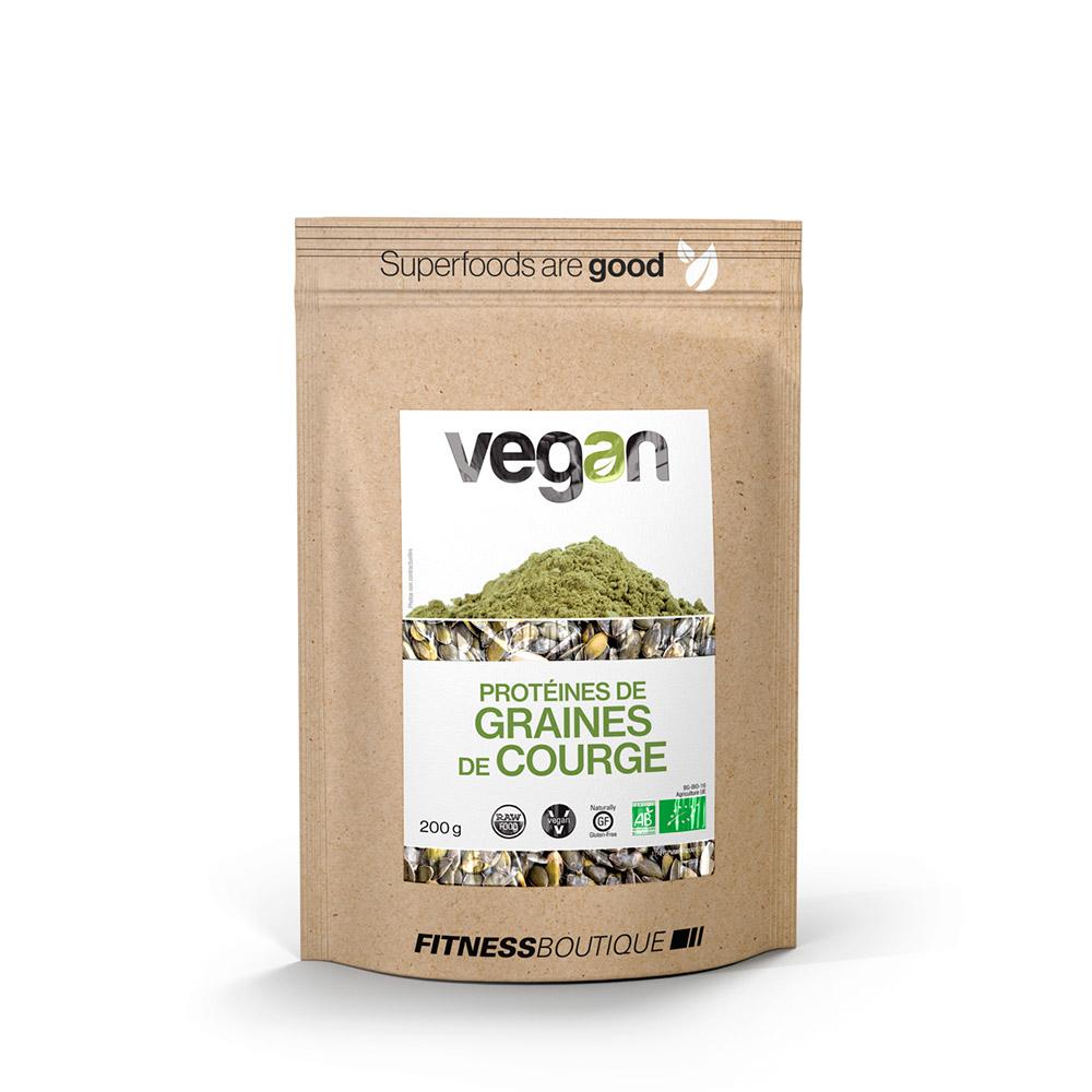 Vegan Proteines de Graines de Courge Crue et BIO