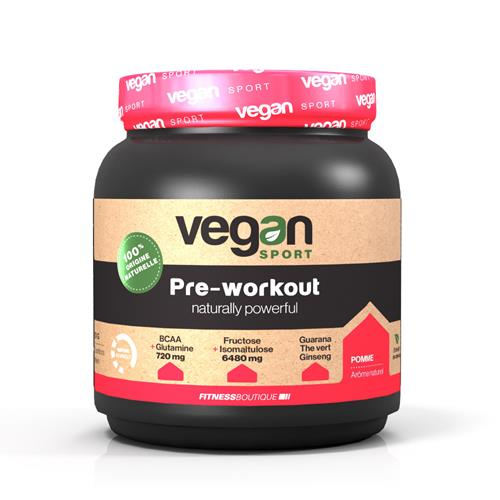 pre workout Pre WorkOut Naturally Powerfull Vegan Sport - Fitnessboutique