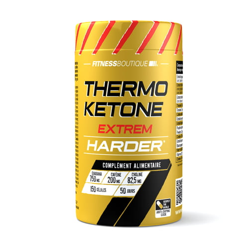 Thermogéniques, Brûleur de Graisse Harder Thermo Ketone Harder