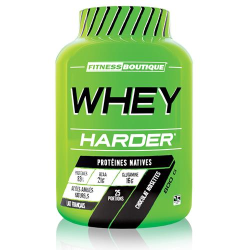 Protéines Whey Harder Harder - Fitnessboutique