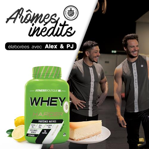 Whey protéine Whey Harder Edition Limitée Bodytime