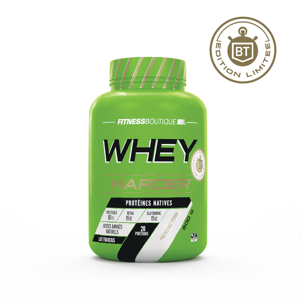 Harder Whey Harder Edition Limitée Bodytime