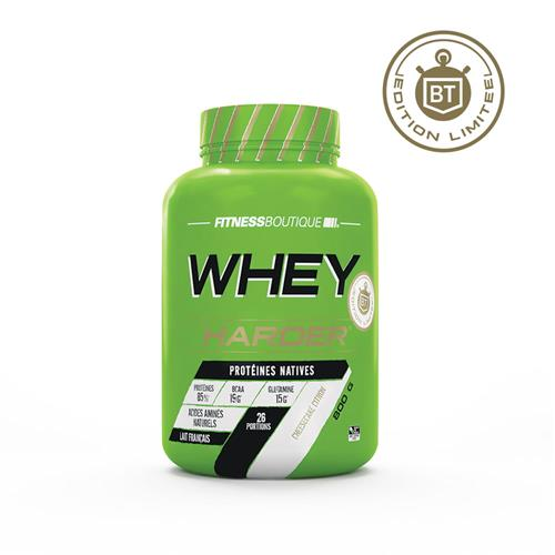 Nutrition Sport Harder Whey Harder Edition Limitée Bodytime